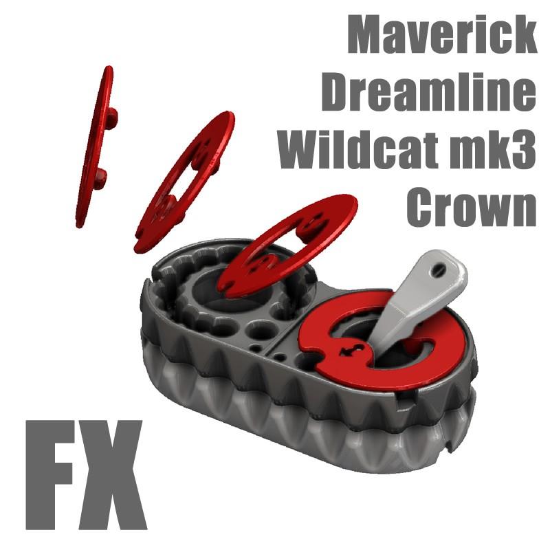 Wildcat MK3 30 Cal FX Dreamline Crown Speed Loader